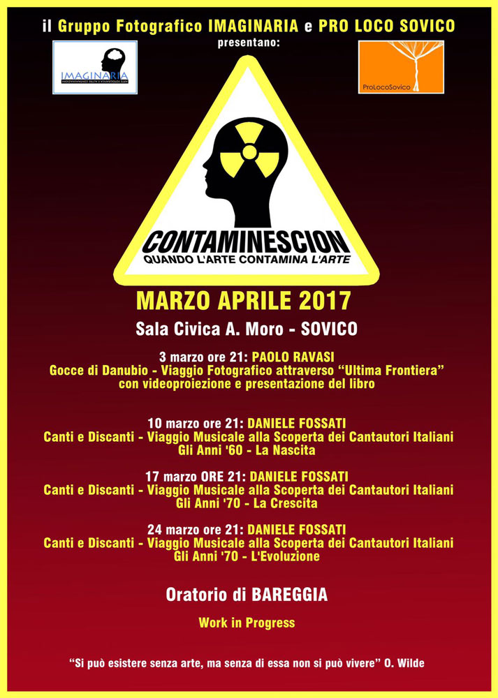 Locandina Contaminescion 2017