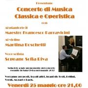 Locandina Concerto Musica Classica 2018