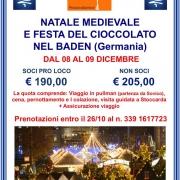 Locandina Visita ai mercatini di Natale 2018