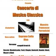 Locandina Musica Classica con Sofia Riva